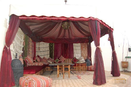 Riad Fatinat Marrakech: Auf dem Dachgarten