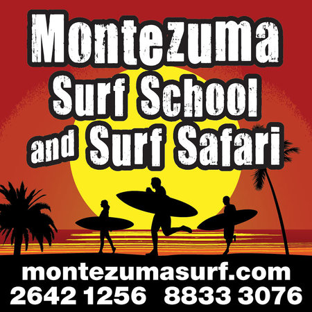 Montezuma Surf School with Chris Johnson : Let The Fun Begin