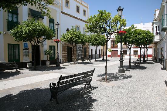 Rota, Spain: Plaza Barroso