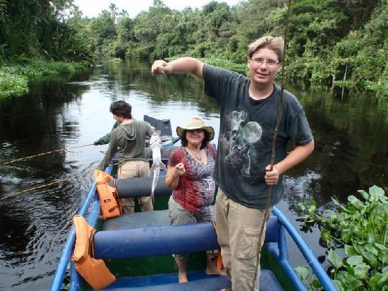 Tucupita, Venezuela: Fishing Piranhas
