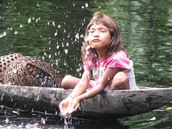 Tucupita, Venezuela: Warao Kid