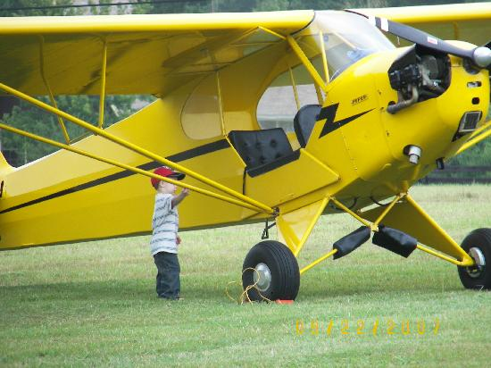 Winter Haven, Flórida: Fly a Piper J3 Cub