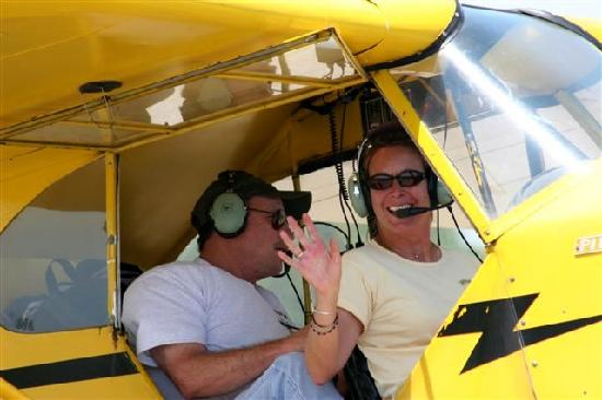 Winter Haven, Flórida: Ride and Instruction in the Piper J3 Cub