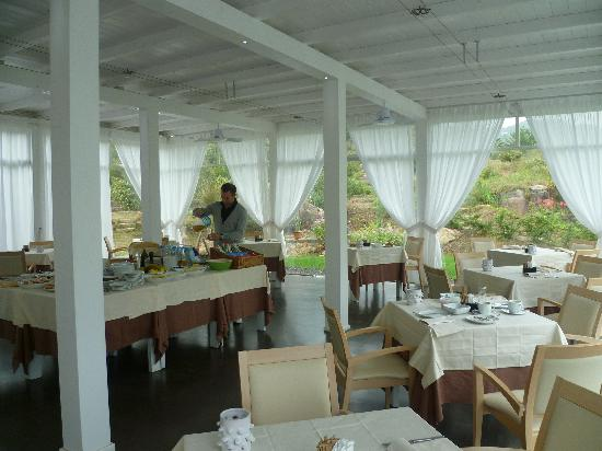 Santa Maria Navarrese, إيطاليا: La sala colazioni