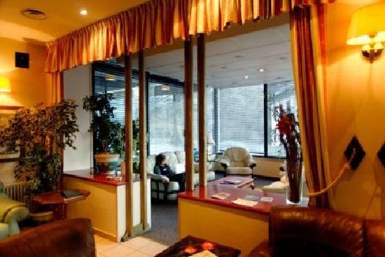 Hotel Terminus Mont-Blanc : Hotel Terminus Lounge