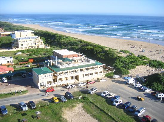 Aerial view of Afrovibe Adventure Lodge