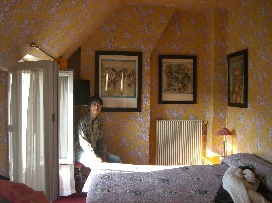 Hotel de Nice: テラス付の部屋