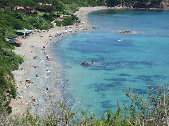 Isla de Elba, Italia: Spiaggia di Norsi