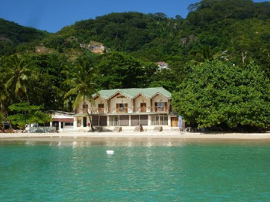 Clef des Iles : Vue depuis la mer