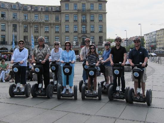 City Segway Tours Munich: Our Group