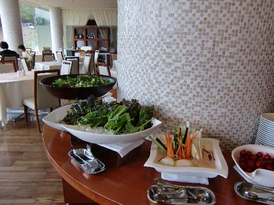 Island Hotel & Resort Nasu: 朝食ビュッフェ