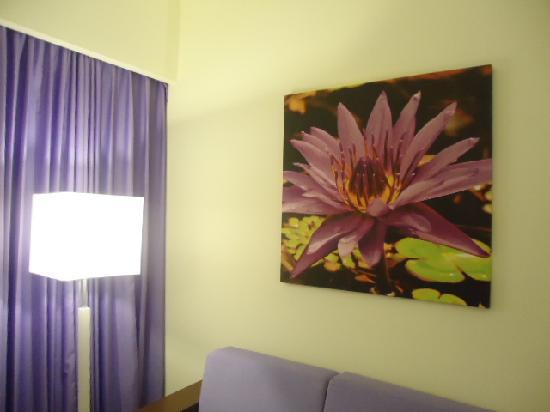 Hotel Riu Plaza Panama: Habiataciones en el 33º piso Habiatacion Lila