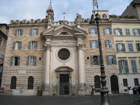 Casa di Santa Brigida : Front of convent