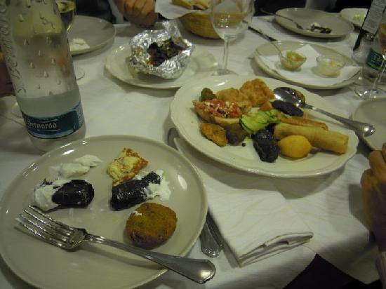 Antipasti misti - Picture of Zeus DOC Restaurant, Noventa Padovana ...