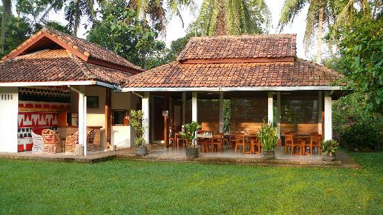 Satwa Elephant Eco Lodge: Il ristorante