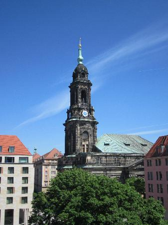 Holiday Inn Express Dresden City Centre : View from room 507