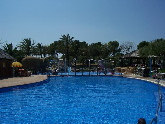 Cambrils Park Resort: Elephant pool(s)
