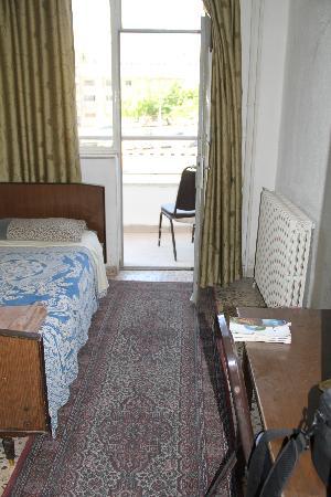 "Sun Rise Hotel: Single room (in ""upgraded"" room)"