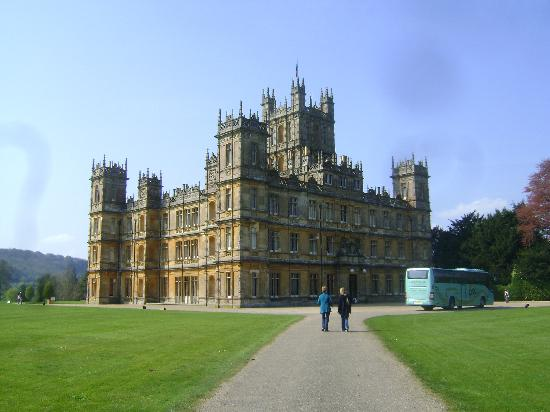 Highclere Castle: Front view