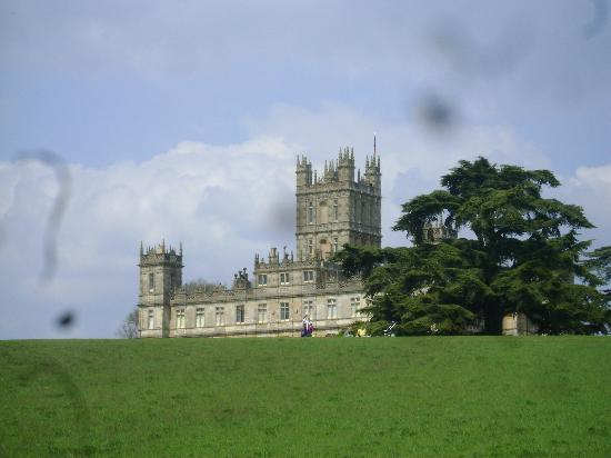 Highclere Castle: Back view