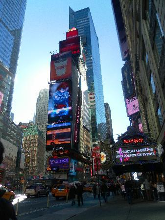 New York, État de New York : Time Square