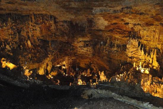 Natural Bridge Caverns : Caverns