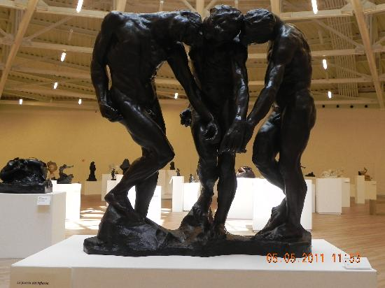 Museo Soumaya: Rodin`s the gates of Hell
