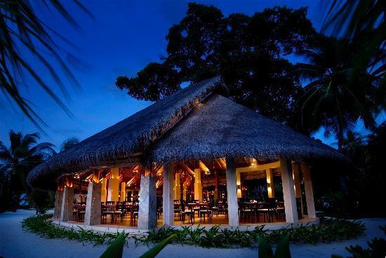 Kuramathi Island Resort: Haruge Restaurant at Kuramathi