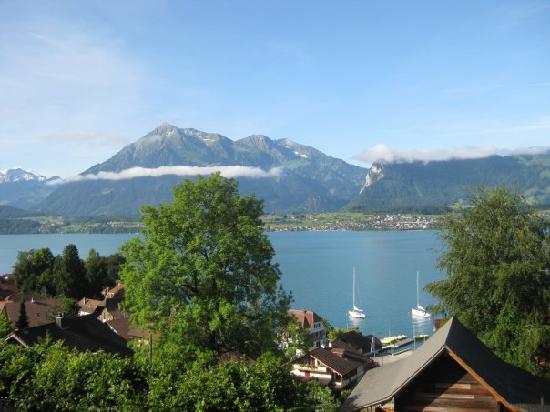 Hotel Schönbühl: Can't beat the view.
