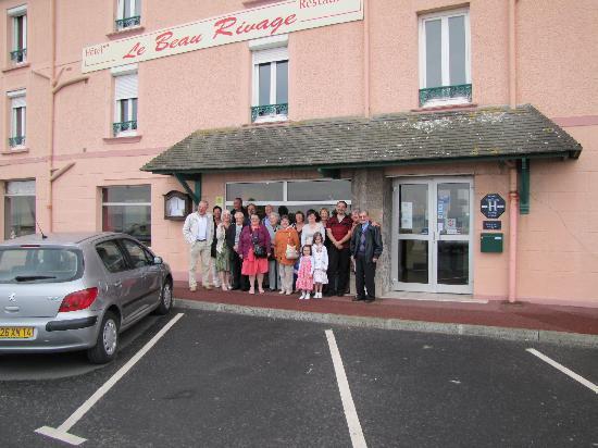 Luc-sur-Mer, Frankrig: A notre sortie