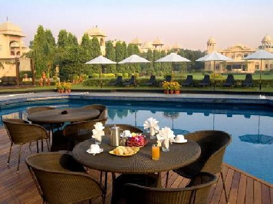 Manesar, India: pool side