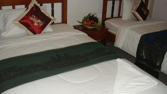 Thireach Angkor Inn: Twin room