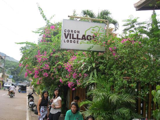 Coron Village Lodge: View from the street