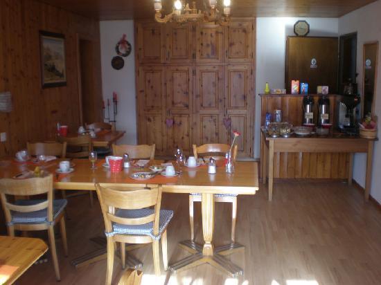 Pension Kastel : breakfast/dinner room