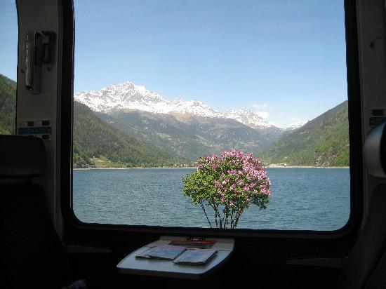 Bernina Express: Lago di Poschiavo