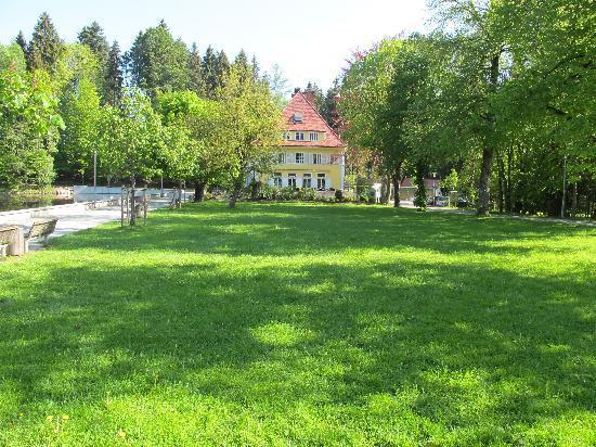 Lindenberg, Deutschland: view from hotel entrance