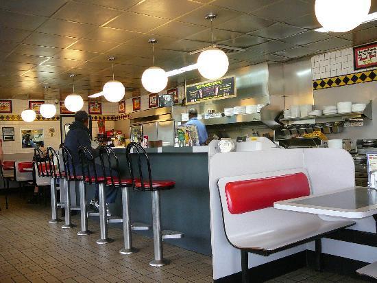 Interior of Elkton Waffle House