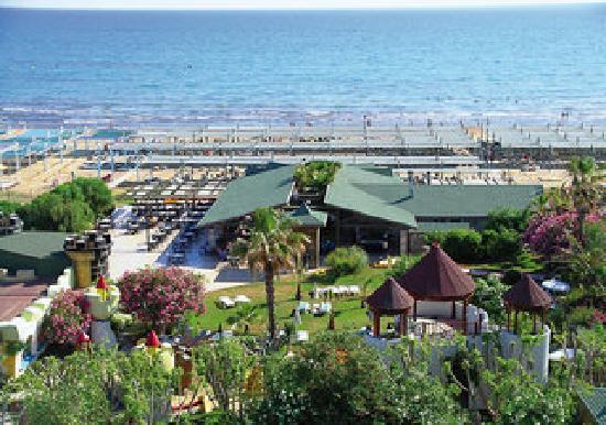 Oleander Hotel : Oelander Strandseite