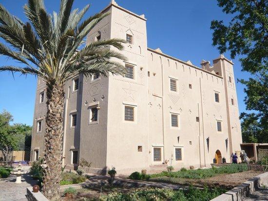 Kasbah Ait Ben Damiette: vue depuis l'entrée