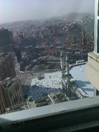 Raffles Makkah Palace: view of the Kaa'ba