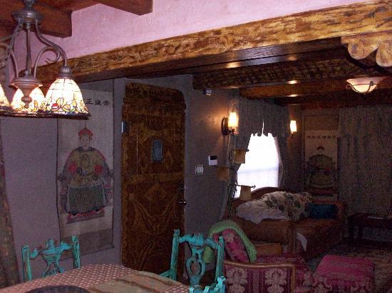 Casa de Estrellas: Living area space