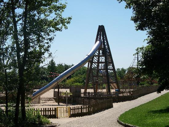 Telford, UK: Rocket Slide