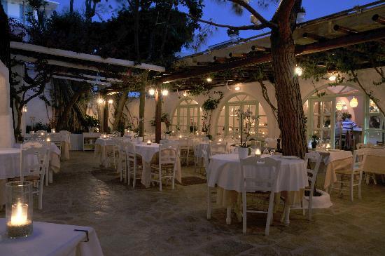 Avra Restaurant - Garden: Avra Courtyard garden 2