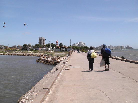 Porlamar, Venezuela: Angekommen auf Isla Margarita, am Pier