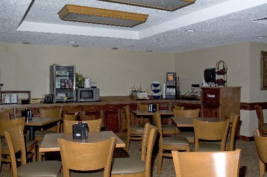 Days Inn & Suites Milford: Breakfast Area