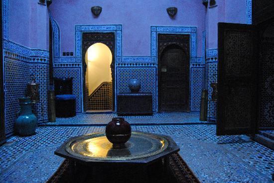 Riad d'Or: Altra angolazione del cortile