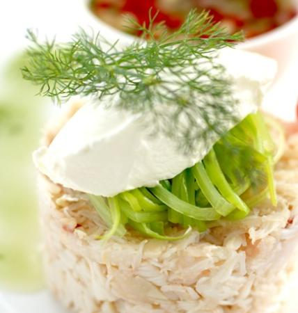 Garrack Restaurant : A Crab Starter