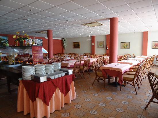 Veril Playa: sala de refeições