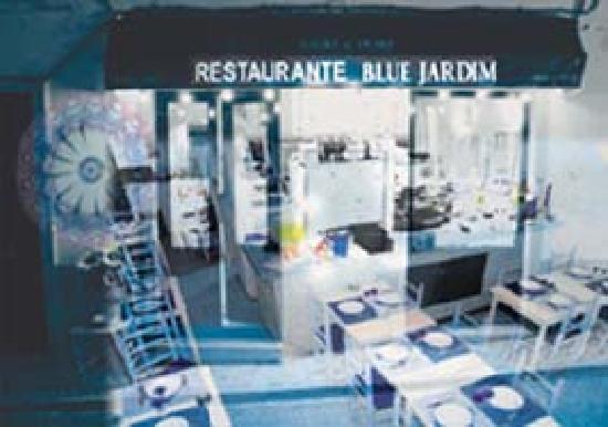 Blue Jardim - Cafe e Restaurante: Blue Jardim Restaurant rua Gil Vicente