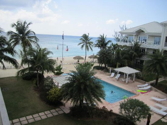 Caribbean Club Luxury Boutique Hotel : Breath Taking View From Our Balcony